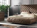 Двуспальная кровать с обивкой Chantal alto  180 х 200