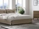 Двуспальная кровать с обивкой Amami  160 х 200