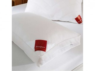 Подушка с синтетическим наполнителем, с бортами «Baucshi», средней плотности