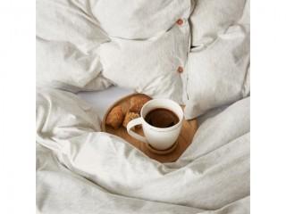 Комплект постельного белья двуспальный DREAM, белый