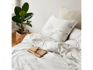 Комплект постельного белья односпальный DREAM, белый