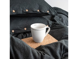 Комплект постільної білизни двоспальний DREAM, графітовий