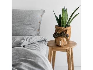 Комплект постельного белья односпальный DREAM, серый