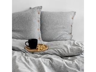 Комплект постельного белья двуспальный DREAM, серый