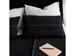 Подушка з вовни PREMIUM, антрацит