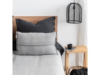 Подушка з вовни PREMIUM, сіра
