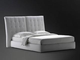 Ліжко зі стьобаним узголів'ям Angle