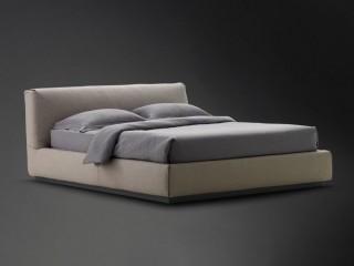 Кровать с низким изголовьем Gentleman