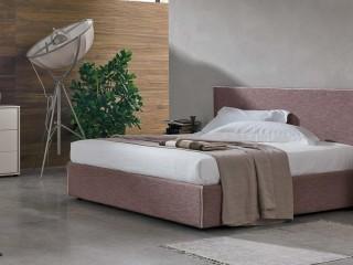 Двуспальная кровать с обивкой Zeno