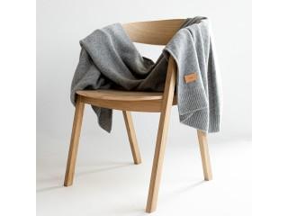 Плед-одеяло из шерсти, серый, Moyha